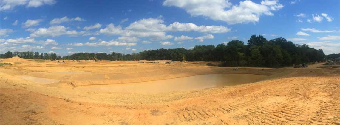 Site Development Panorama